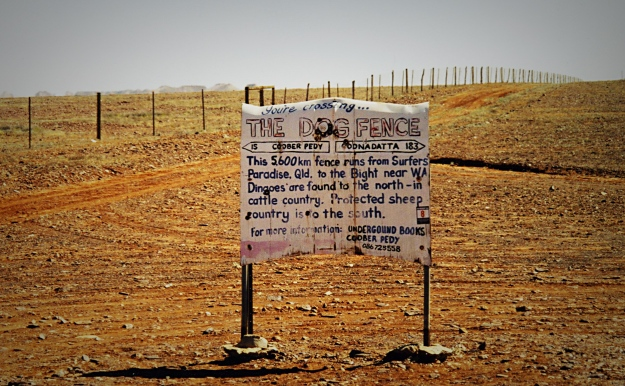 The dingo fence is a blunt instrument; we can do better. Image [CC-BY-SA-3.0] via Wikimedia Commons