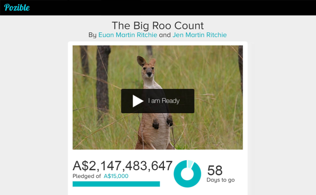 A mysterious benefactor donated more than $2 billion to The Bog Roo Count. Well, almost.