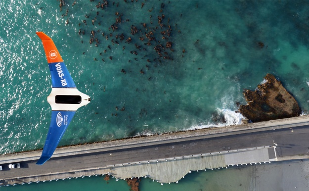 UAVs are at the cutting edge of ecological research. Image credit: Dr Alexandre Schimel